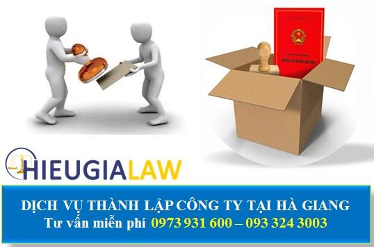 Dịch vụ thành lập công ty tại Hà Giang