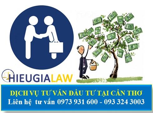 Dịch vụ tư vấn đầu tư nước ngoài tại Cần Thơ