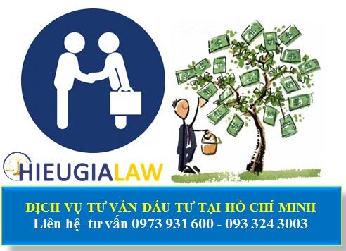 Dịch vụ tư vấn đầu tư nước ngoài tại Hồ Chí Minh
