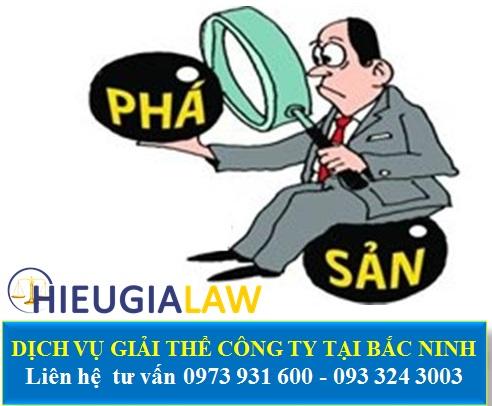 Dịch vụ giải thể công ty tại Bắc Ninh