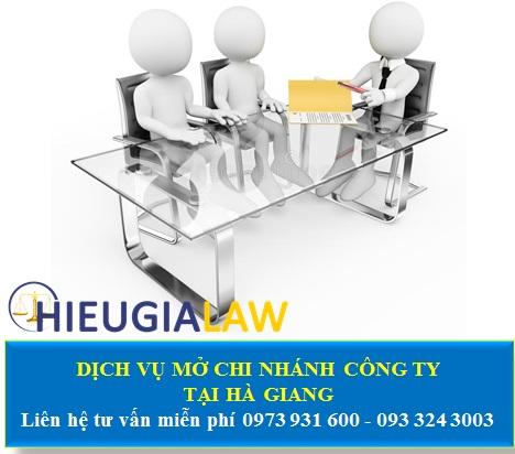 Dịch vụ thành lập chi nhánh công ty tại Hà Giang