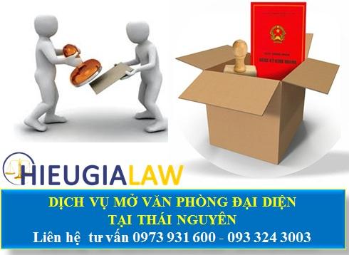 Dịch vụ mở văn phòng đại diện tại Thái Nguyên