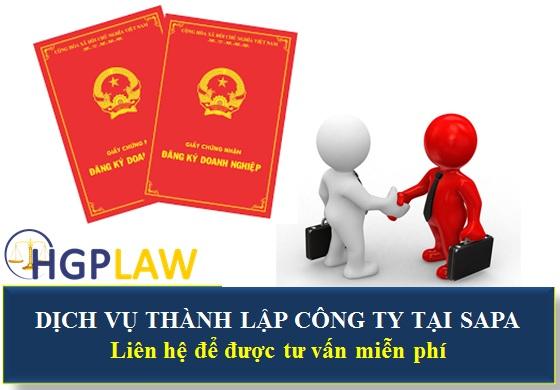 Dịch vụ thành lập công ty tại Sapa