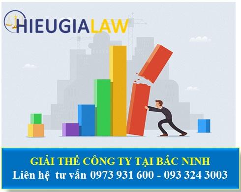 Thủ tục giải thể công ty tại Bắc Ninh