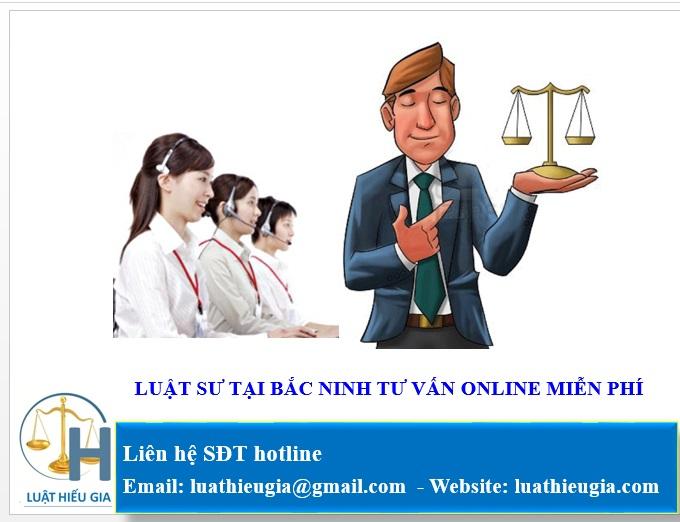 Luật sư tư vấn tại Bắc Ninh