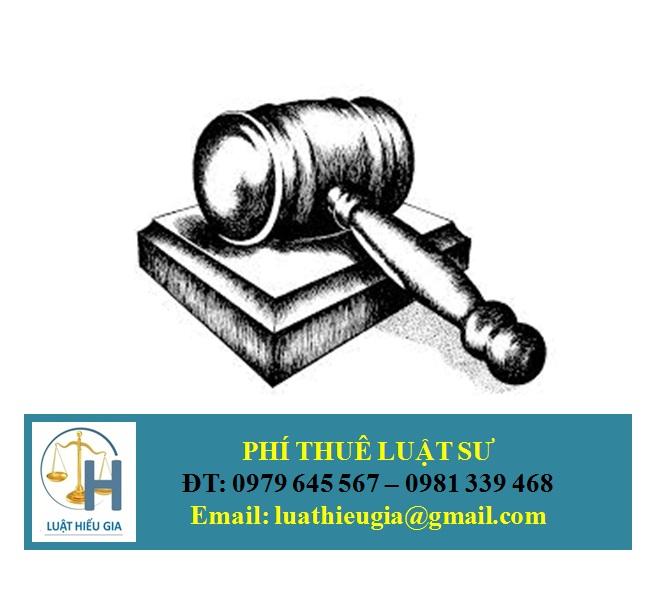 Phí thuê Luật sư