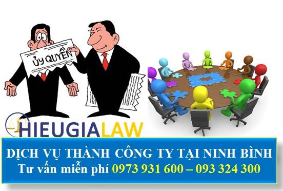 Thành lập doanh nghiệp tại Ninh Bình