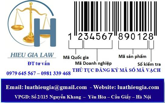 Thủ tục đăng ký mã số mã vạch sản phẩm