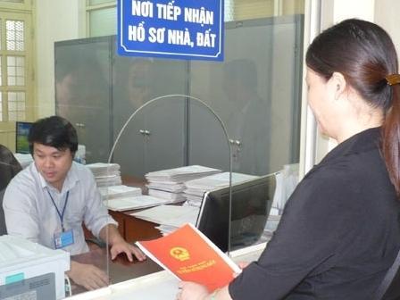 Nộp hồ sơ sang tên sổ đỏ tại Quảng Ninh