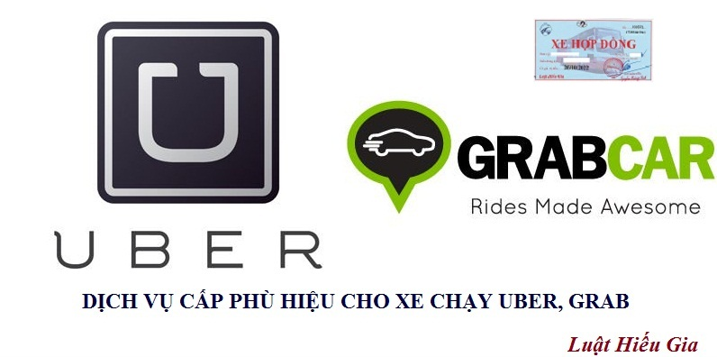 Dịch vụ cấp phù hiệu cho xe chạy Uber, Grab