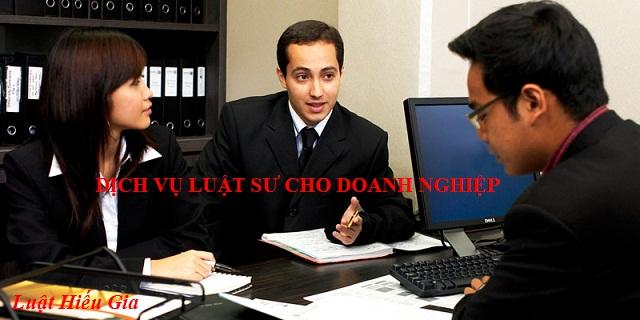 Dịch vụ luật sư cho doanh nghiệp
