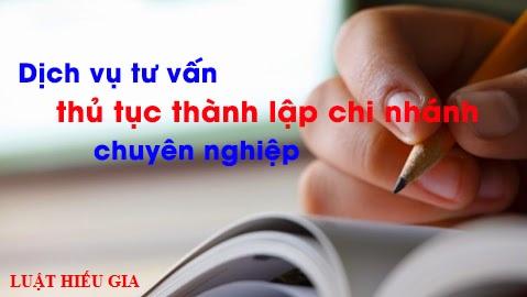 Dịch vụ thành lập chi nhánh trọn gói tại Bắc Ninh