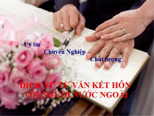 Dịch vụ tư vấn kết hôn với người nước ngoài tại Hà Nội
