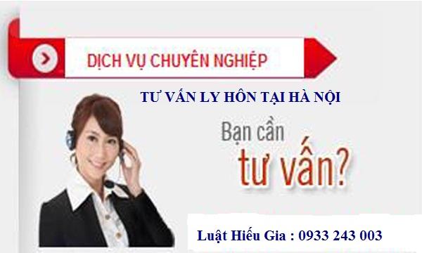 Dịch vụ luật sư tư vấn ly hôn tại Hà Nội