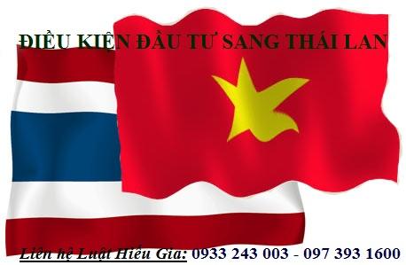 Điều kiện đầu tư sang Thái Lan