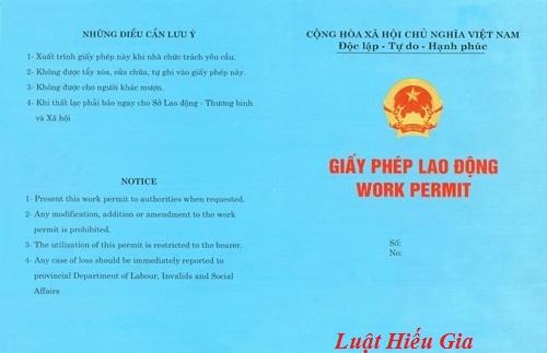 Giấy phép lao động tại Việt Nam