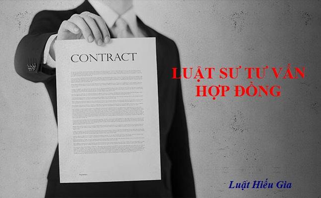 Luật sư tư vấn hợp đồng