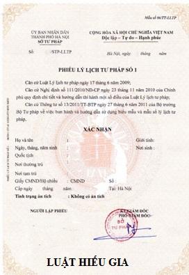 Thủ tục xin lý lịch tư pháp tại Quảng Ninh