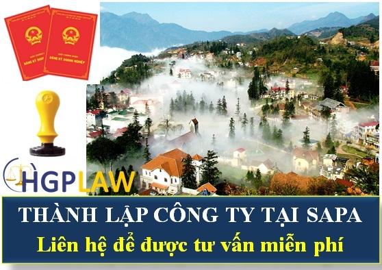 Thành lập công ty tại Sapa