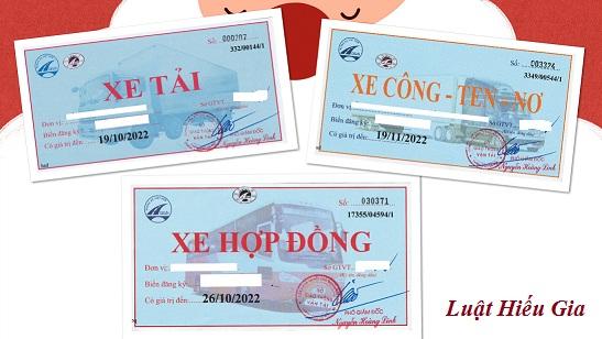 Thủ tục cấp phù hiệu xe ô tô tại Bắc Ninh