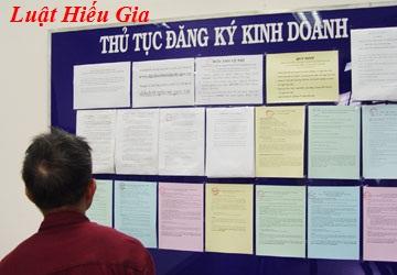 Thủ tục đăng ký kinh doanh tại Hà Nam