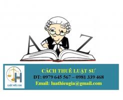 Những điều cần biết khi Thuê Luật sư