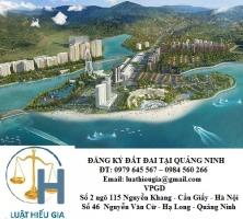 Đăng ký sử dụng đất đai tại Quảng Ninh