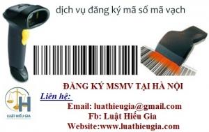 Thủ tục Đăng ký mã số mã vạch cho sản phẩm tại Hà Nội