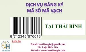 Đăng ký mã số mã vạch tại Thái Bình