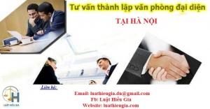 Dịch vụ mở văn phòng đại diện tại Hà Nội