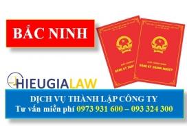 Thành Lập Công Ty Trọn Gói Tại Bắc Ninh