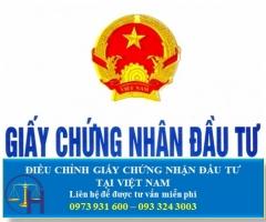 Điều Chỉnh Giấy Chứng Nhận Đầu Tư Tại Việt Nam