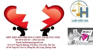 Thủ tục đơn phương ly hôn tại Quảng Ninh