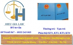 Kiến thức pháp lý về KT1, KT2, KT3, KT4