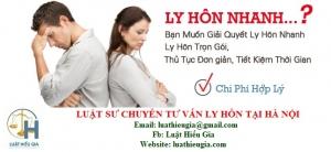 Luật sư chuyên tư vấn ly hôn tại Hà Nội
