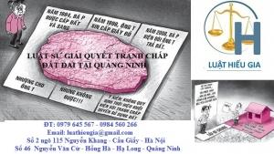 Luật sư giải quyết tranh chấp đất đai tại Quảng Ninh