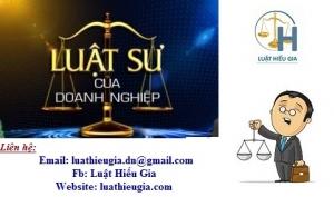 Luật sư riêng cho Doanh nghiệp