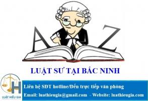 Luật Sư Tại Bắc Ninh