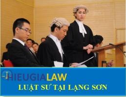 Luật Sư Tại Lạng Sơn
