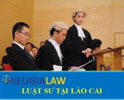 Luật Sư Tại Lào Cai