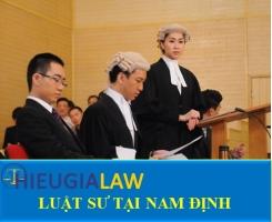 Luật Sư Tại Nam Định