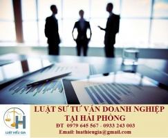 Luật sư tư vấn doanh nghiệp tại Hải Phòng