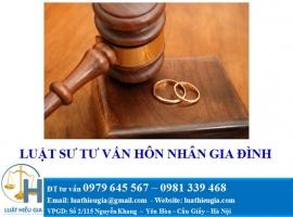 Luật sư tư vấn hôn nhân gia đình tại Quảng Ninh