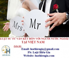Luật sư tư vấn kết hôn với người nước ngoài tại Việt Nam