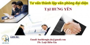 Mở văn phòng đại diện tại Hưng Yên