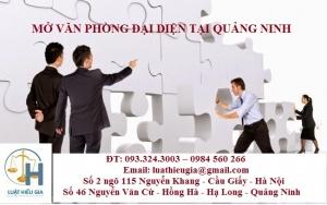 Mở văn phòng đại diện tại Quảng Ninh