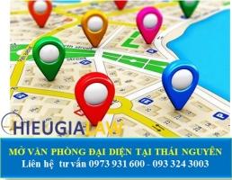 Mở Văn Phòng Đại Diện Tại Thái Nguyên