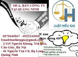 Mua,bán công ty tại Quảng Ninh