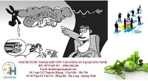 Người nước ngoài góp vốn vào công ty tại Quảng Ninh