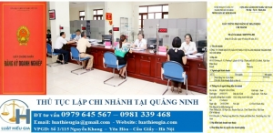 Thành lập chi nhánh tại Quảng Ninh